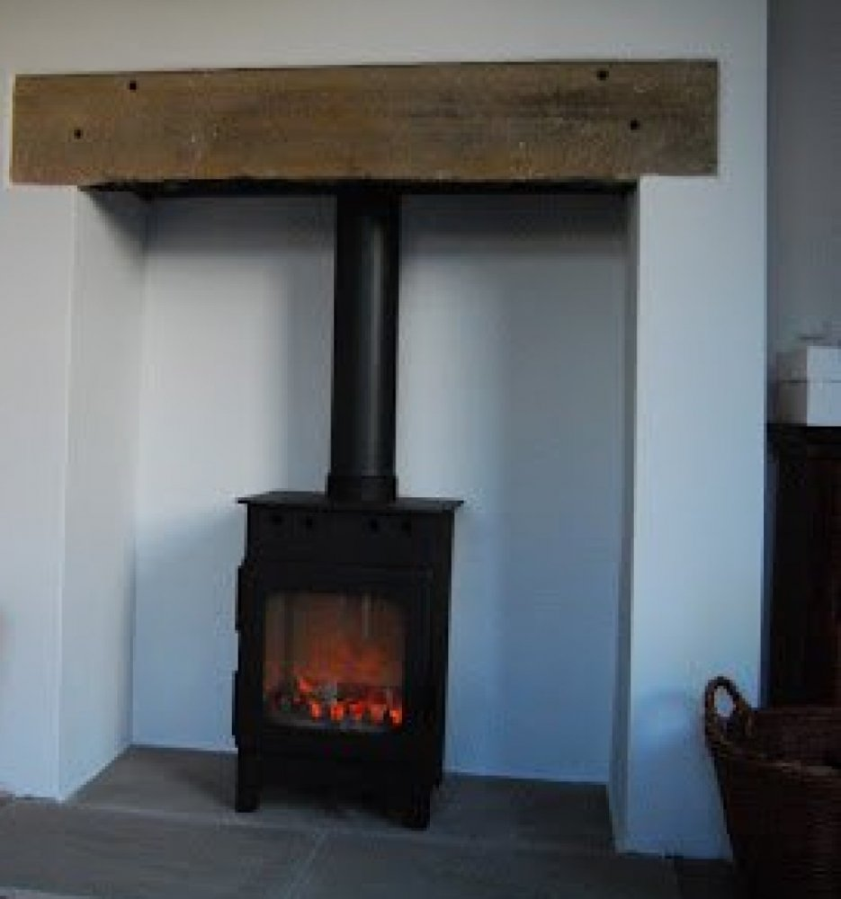 Burley Hollywell wood burning stove
